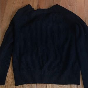 Black banana republic sweater size small